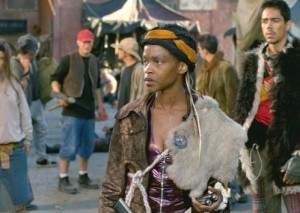 Kim Hawthorne as Theo in Jeremiah